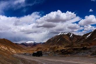 auf dem höchsten Pass des Pamir Highways