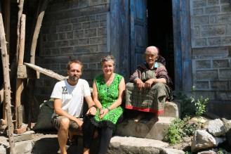 Jürgens ehemalige Vermieterin Devi, Annette und Stefan