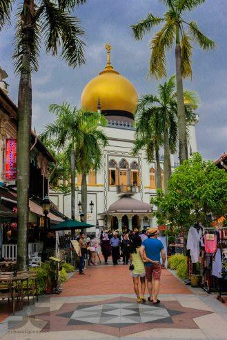 Sultan Moschee Arab Street Singapur