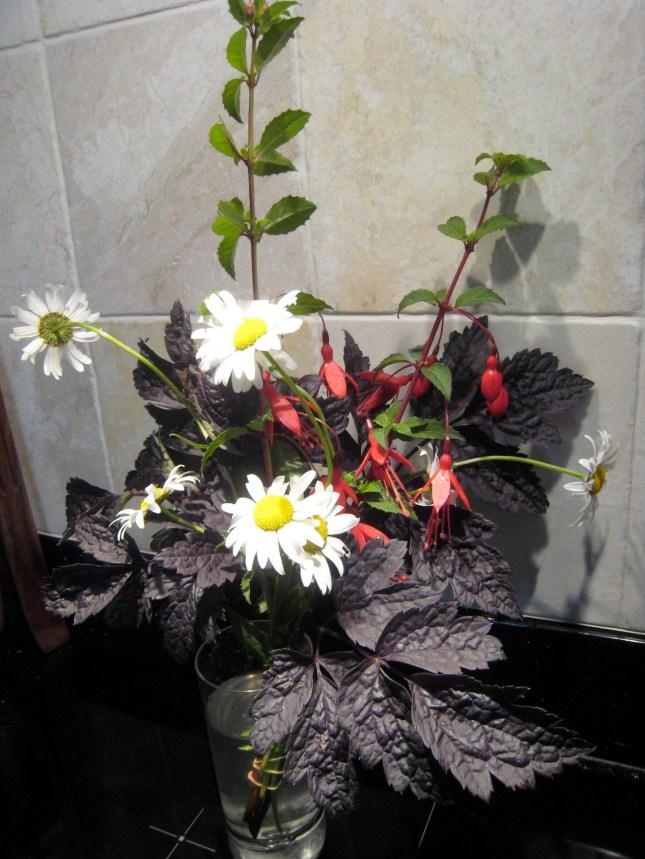 Garden flowers for friends