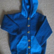 Hoodie made for Grand-baby J