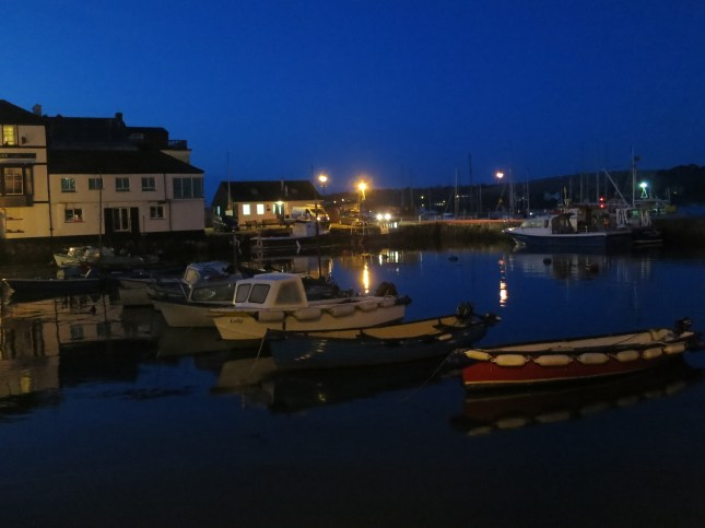 Reflections in the harbour