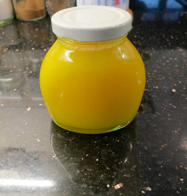 Golden Lemon Curd