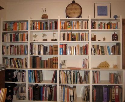 Our study bookshelves
