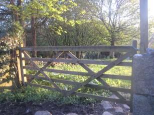 Five bar gate in Cornwall