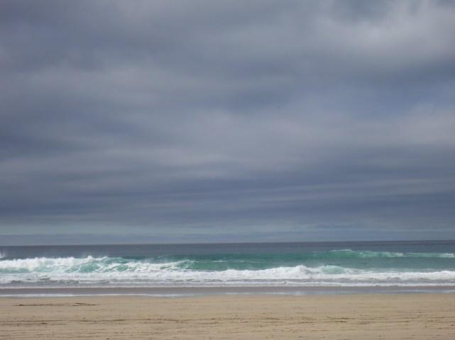 Sand, Sea and Sky; beautiful colours