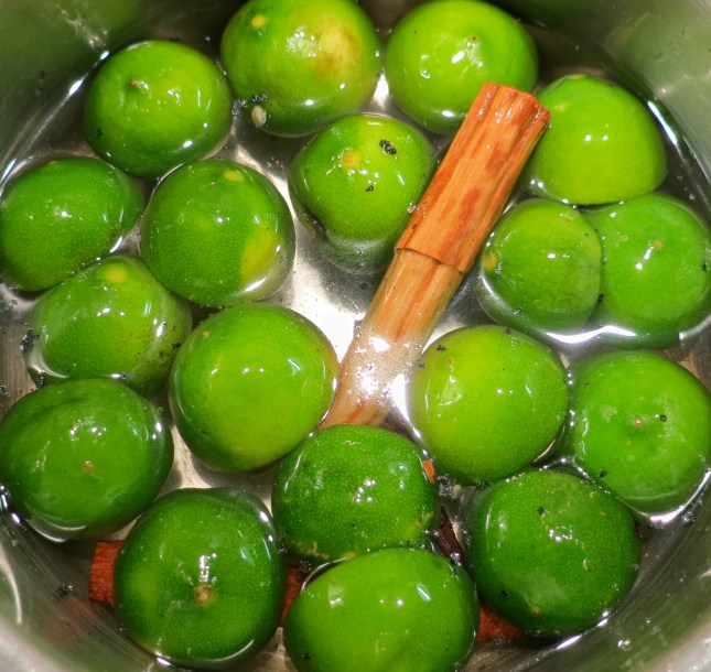 Crystallising the Limequats