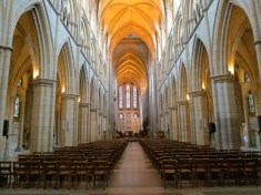 Inside Truro Cathedral