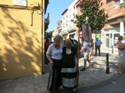 I spoke French and the lovely lady I met spoke Catalonian and we got along really well