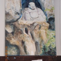 Buddha of the Rocks by my sister, Daisy Priya Lucas