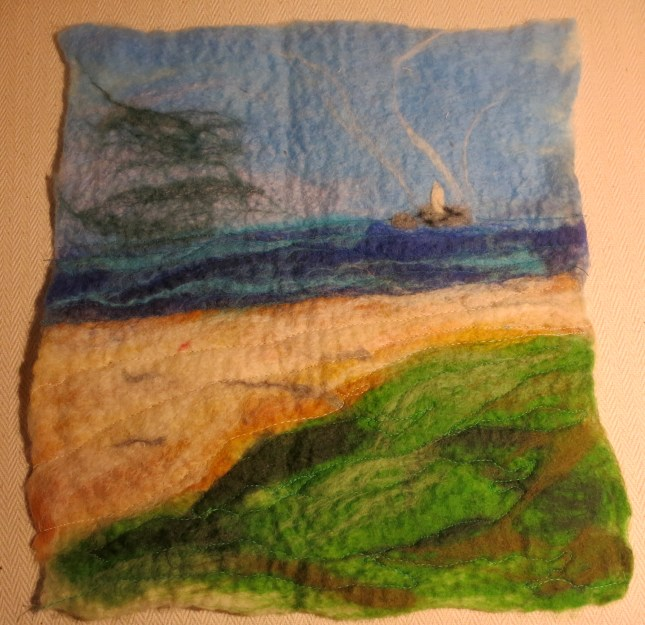 Godrevy Lighthouse by a craftswoman