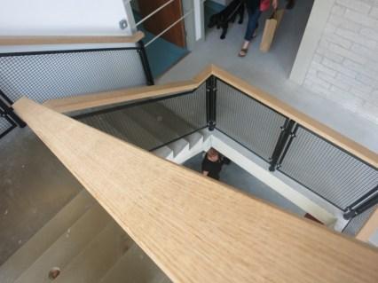Beautiful wooden handrails