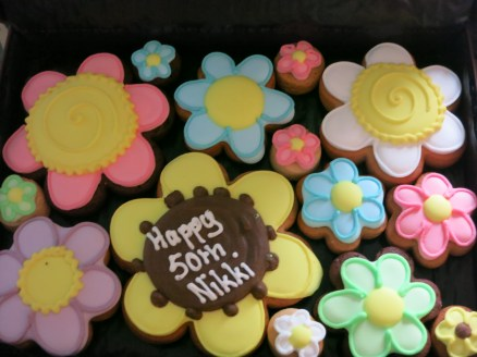 Beautiful biscuits and a brilliant party - thanks N&G