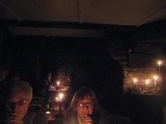 Dinner in Carn Brea Castle, Redruth, Cornwall