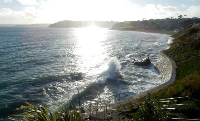 Crazy waves for Gyllyngvase