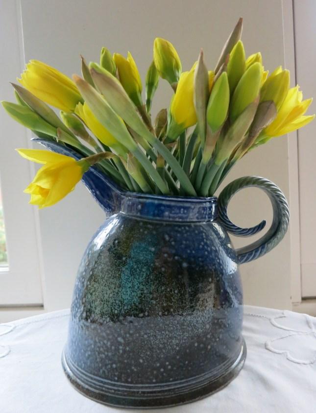 Daffodils in a Jane Hamlyn jug