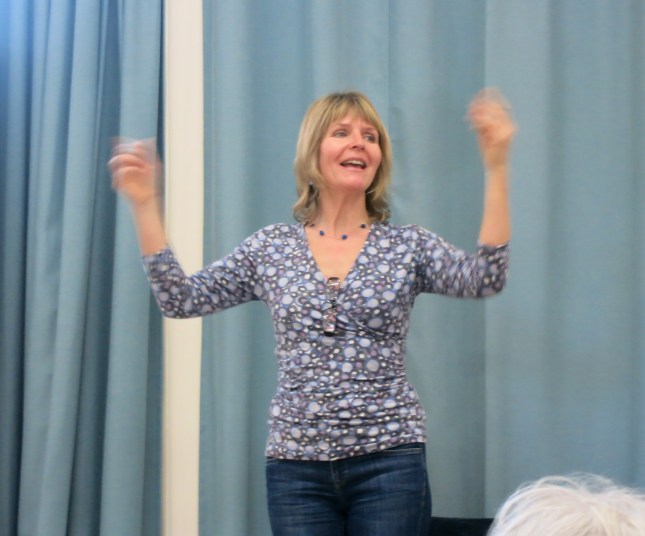 The very talented Helen Yeoman