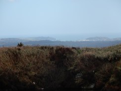 Looking to the South Coast, St Anthony Lighthouse just in view