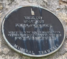 The plaque on the engine house