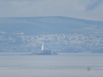 Godrevy Lighthouse in the distance