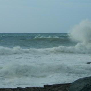 Waves at Chapelporth