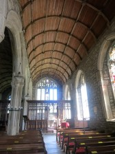 Looking towards the rood screen
