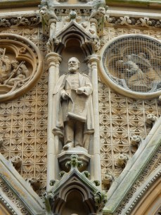 The architect, John Loughborough Pearson, who designed Truro Cathedral