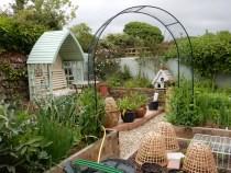 Into the Vegetable garden