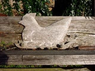 Carved chicken