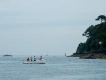 Fishing in peaceful waters