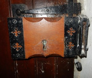 Door lock inside the Church