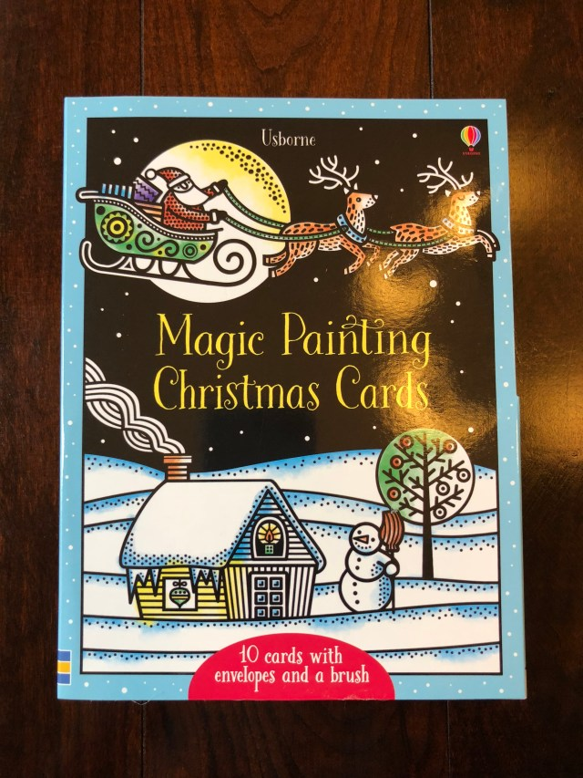 Magic Painting Christmas Cards - Usborne Books