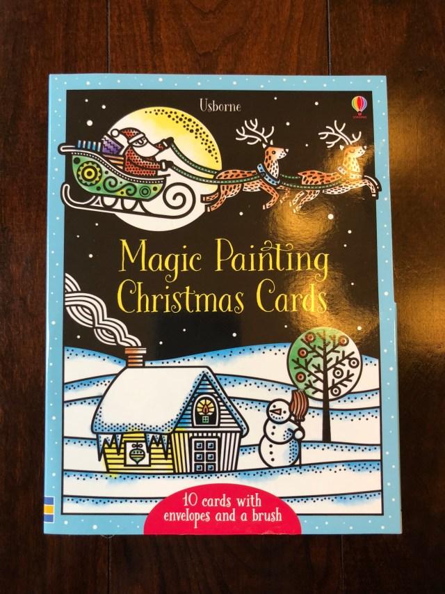 Magic Painting Christmas Cards - Usborne Books