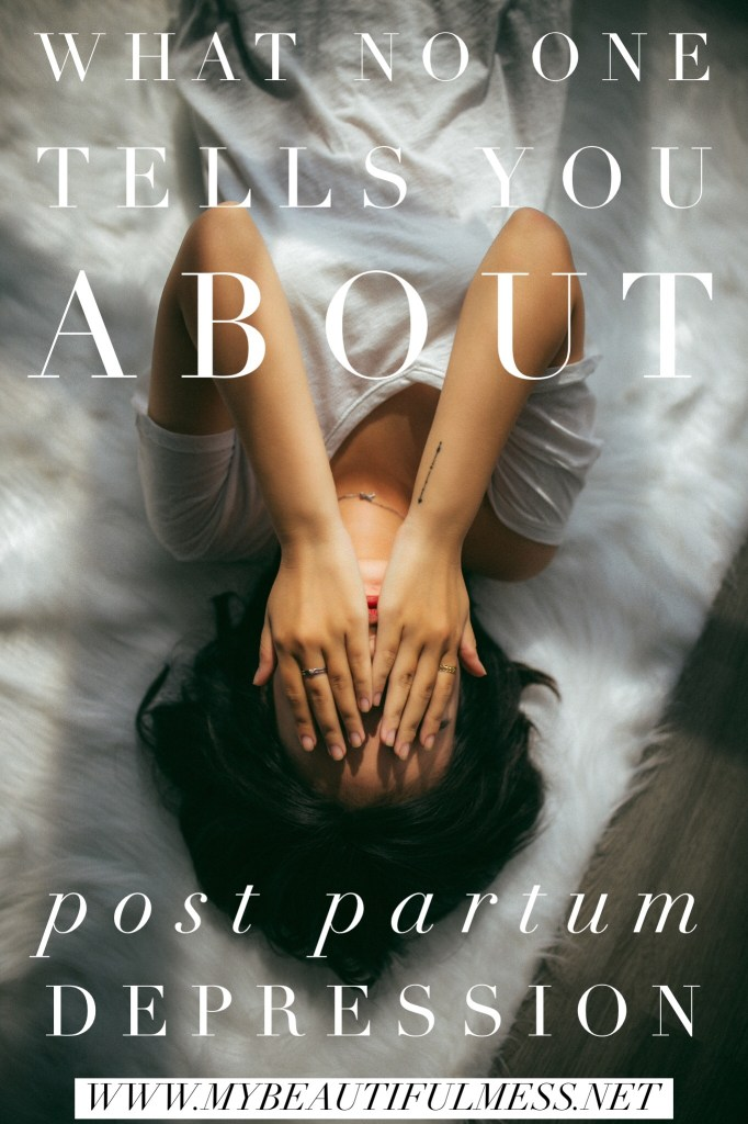 What no one tells you about postpartum depression