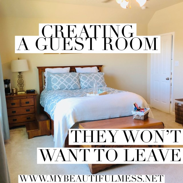 How to create a guest room they won't want to leave