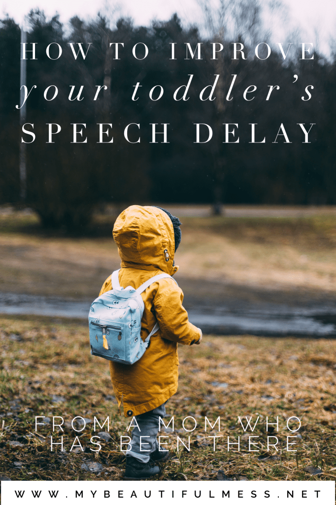 How to improve your toddlers speech delay