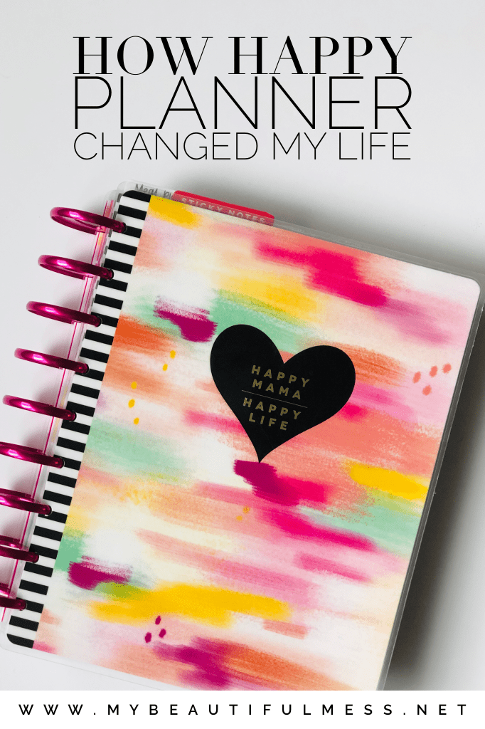 Happy Planner Changed My life