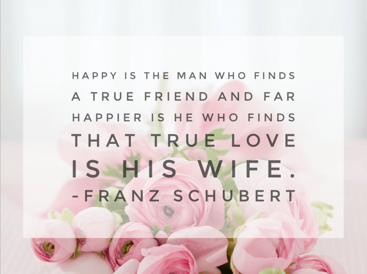 franz Schubert quote