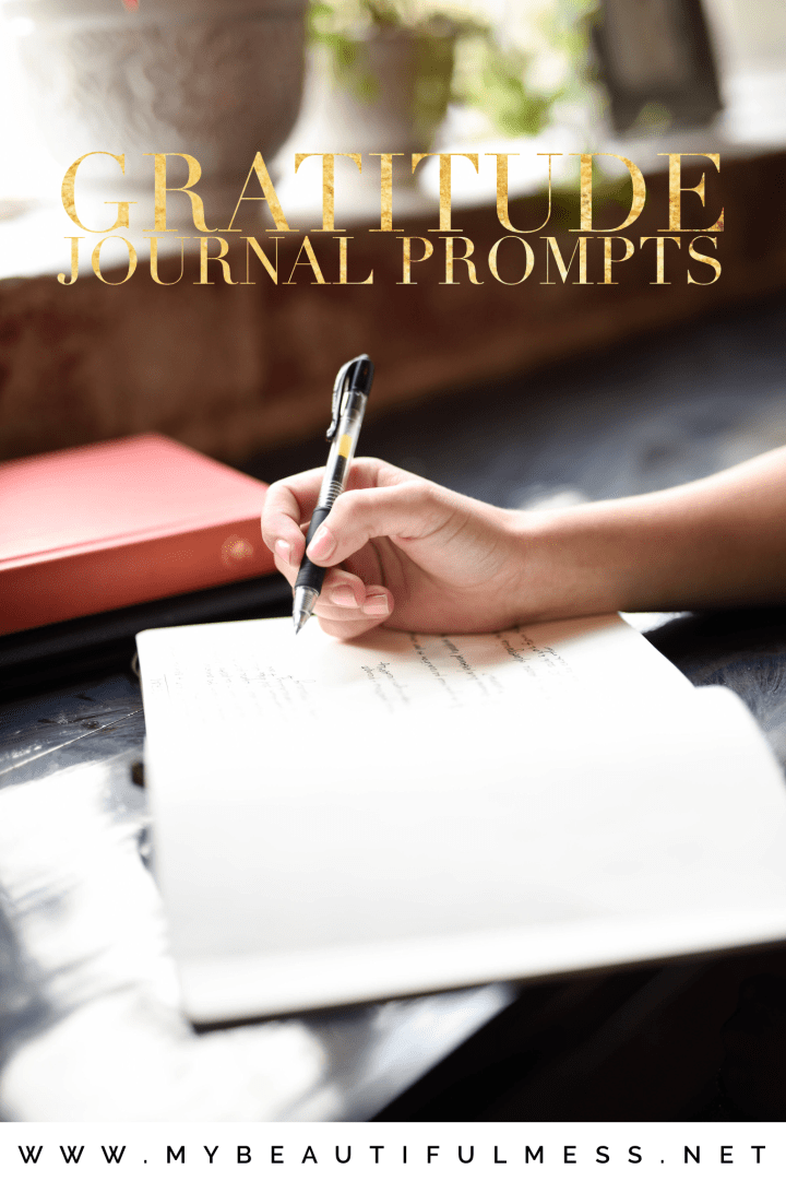 Gratitude Journal Prompts