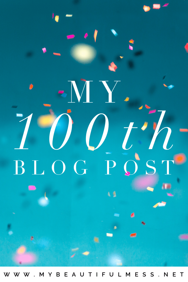 my 100th blog post
