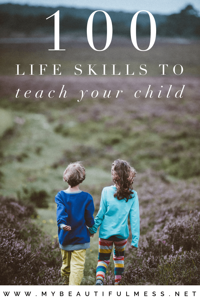 100 life skills to teach your child