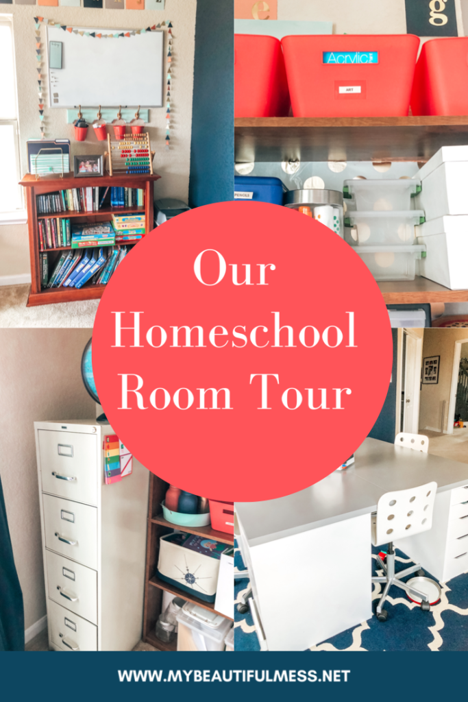 Our homeschool room tour