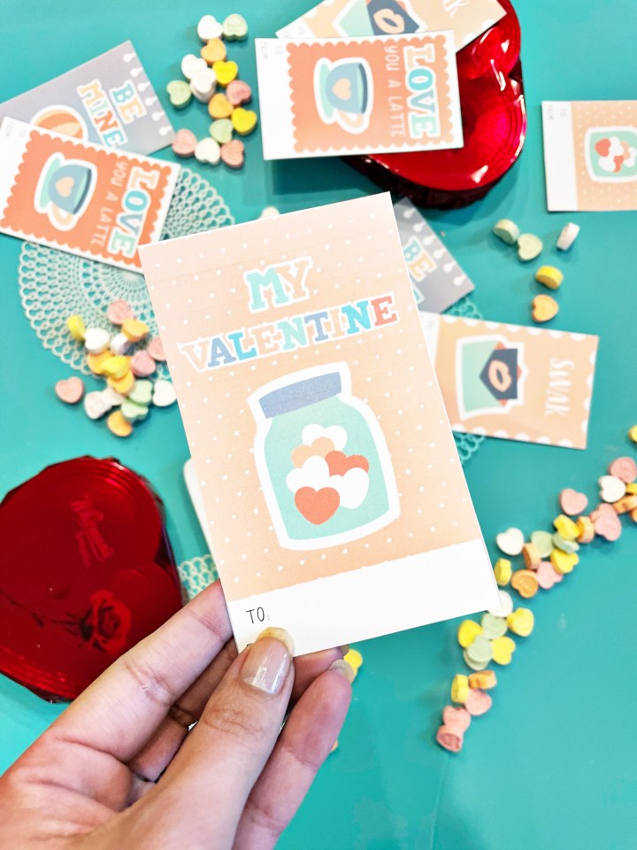 cute printable school valentines