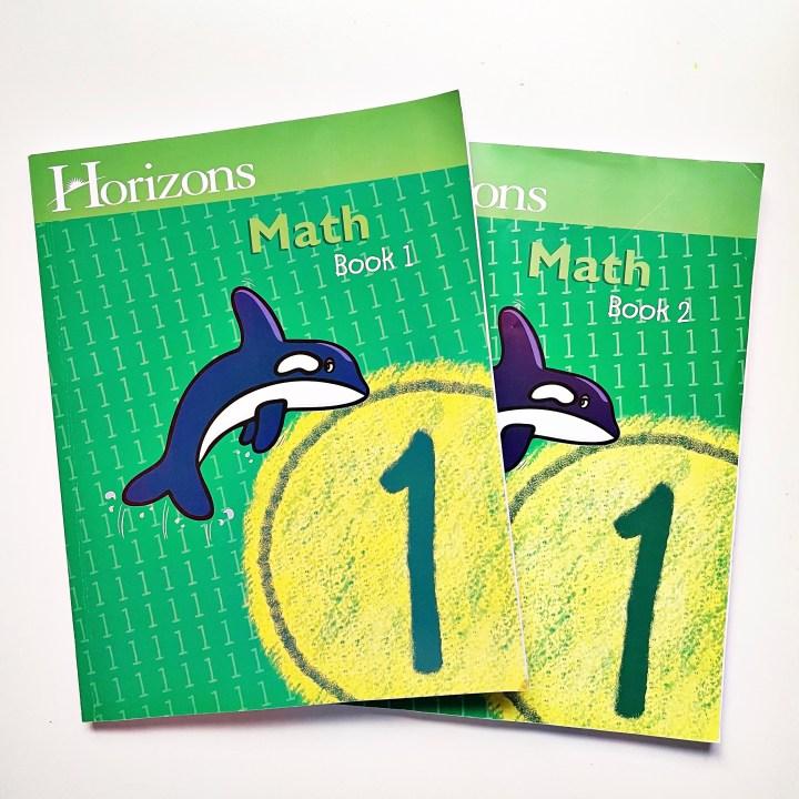 math - our first grade homeschool curriculum