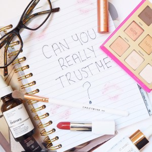 Beauty Blogging Intergrity