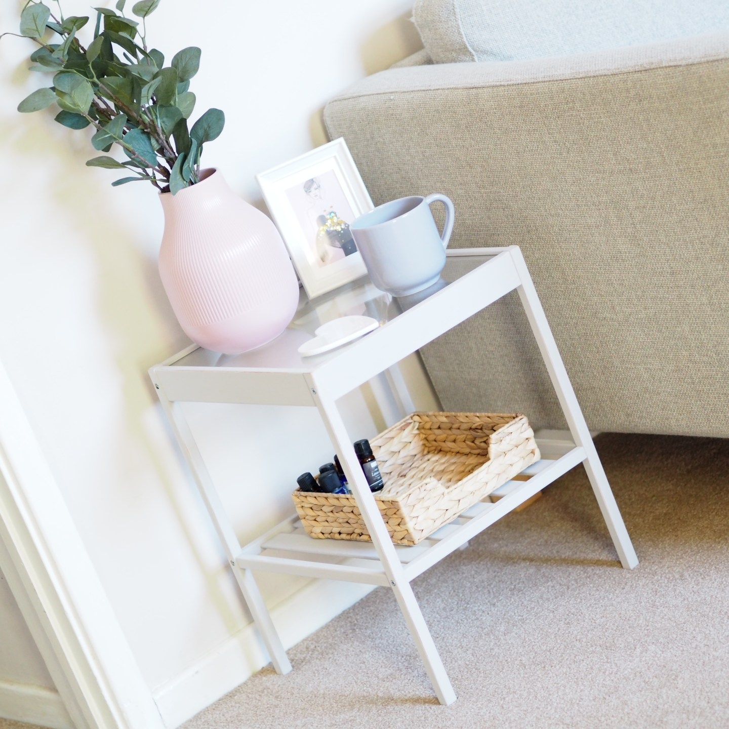 Ikea Nensa Table upcycle hack £10