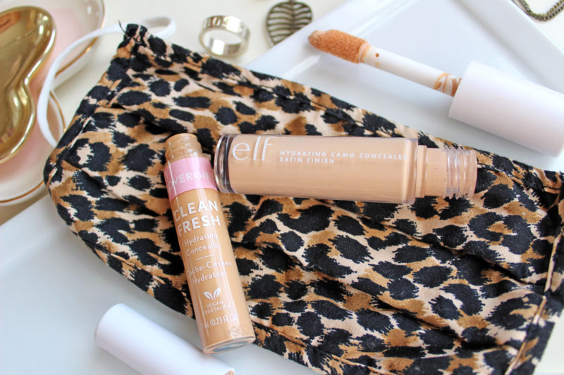 Best cruelty free concealer to wear during quarantine or with a mask -ELF and CoverGirl