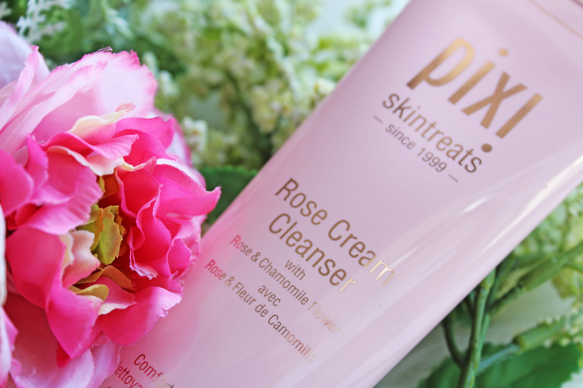 Pixi Beauty Rose Cream Cleanser