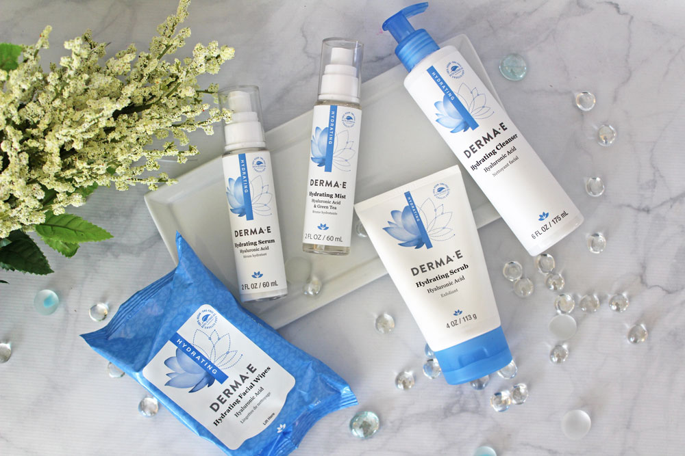 derma e hydrating line review by my beauty bunny - Dry Skin Skincare From the Derma E Hydrating Line by popular Los Angeles cruelty free beauty blogger My Beauty Bunny