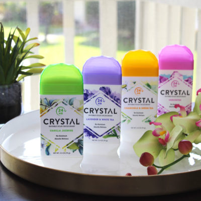 Crystal Invisible Solid Cruelty Free Deodorant